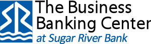The Business Banking Center at Sugar River Bank logo.